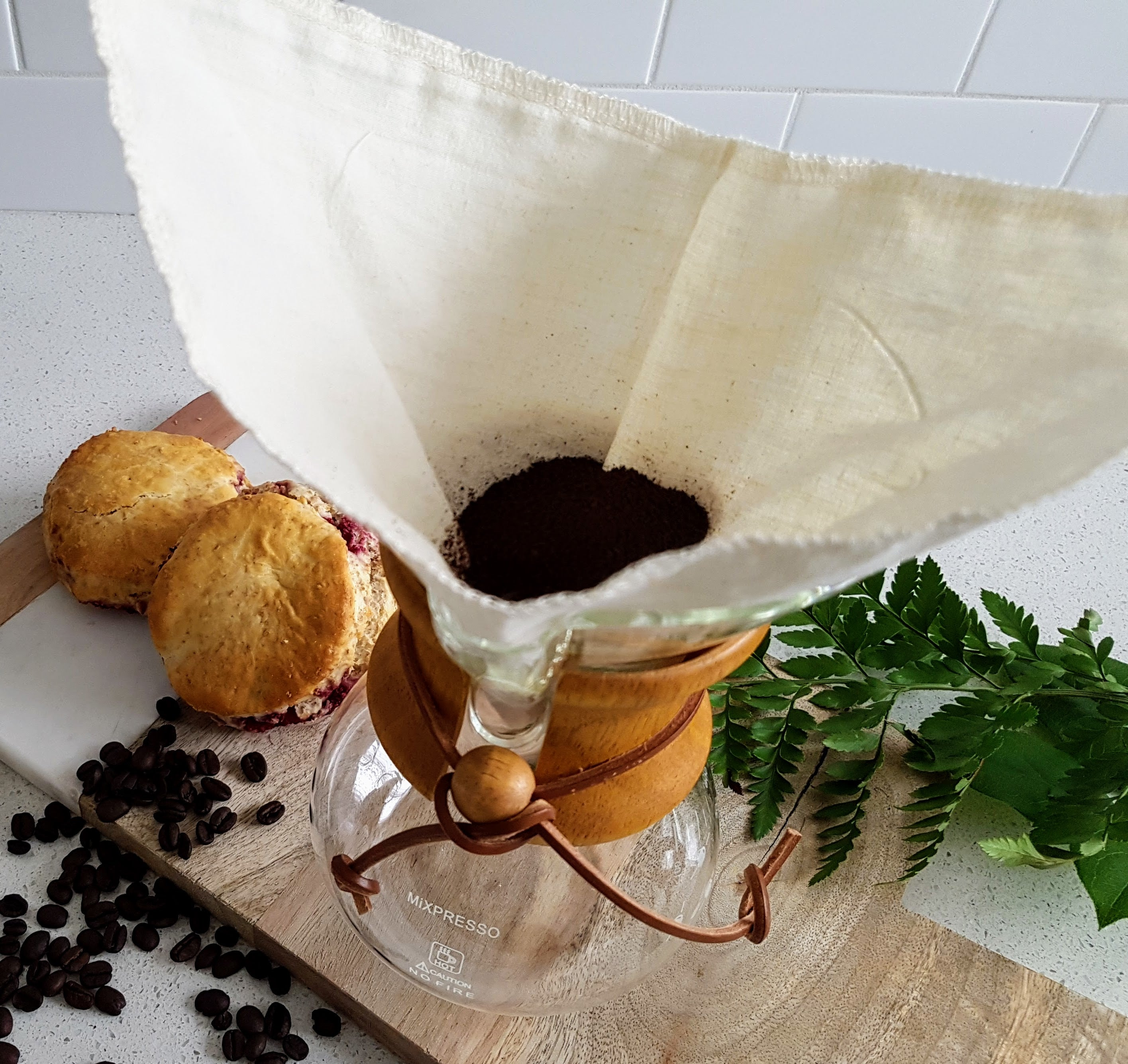 Chemex Style Cloth Coffee Filter