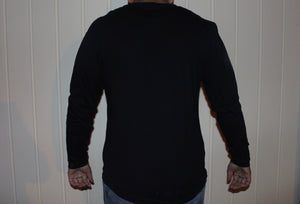 "Black ""Sabr"" Long Sleeve T-Shirt"