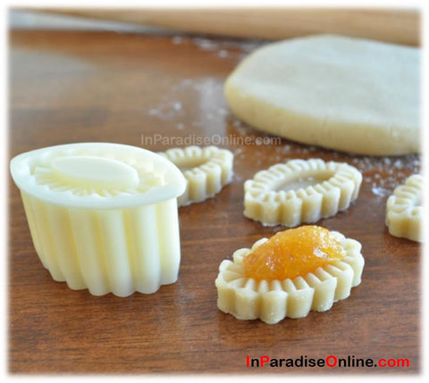 Oval Shaped Pineapple Tart Cookie Cutter