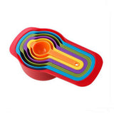 Colorful Plastic Measuring Spoon Set