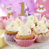 Cute 1st Birthday Cake Toppers