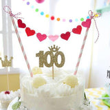 """Sweet Heart"" Bunting Cake Topper"