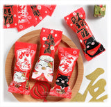 """招财猫"" Nougat Candy Wrappers"