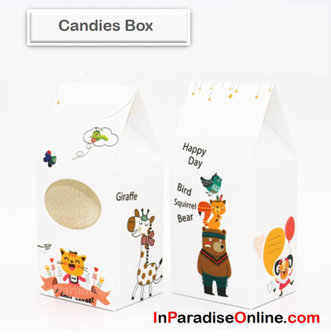 """Zoo"" Nougat Candies Box"