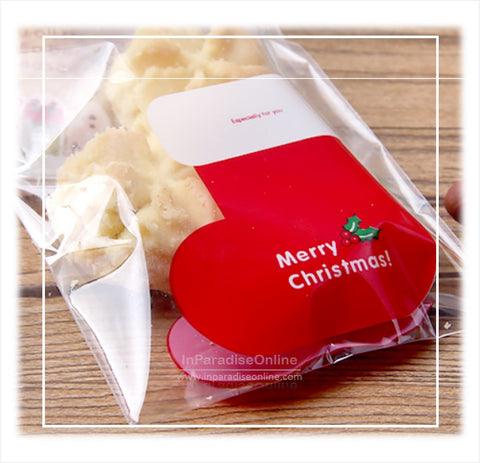 Christmas Cookie Packaging Bags