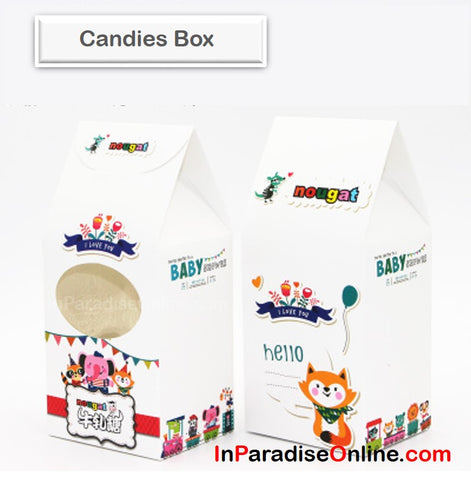 """Circus"" Nougat Candies Box"