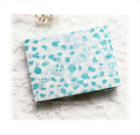 Baby Blue Moo Moo Nougats Wax Paper Wrapper