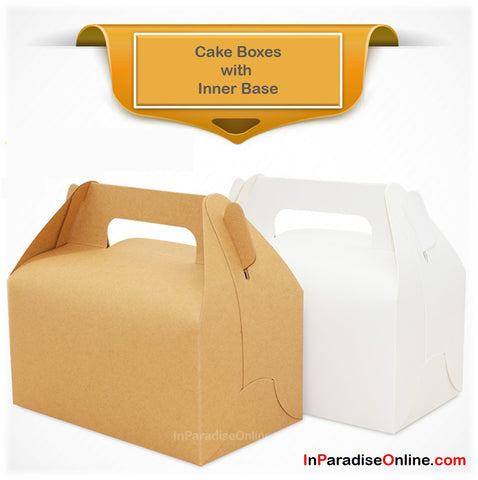 Elegant Bakery Boxes with Handle