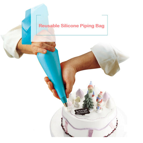 "12"" Reusable Silicone Piping Bag"