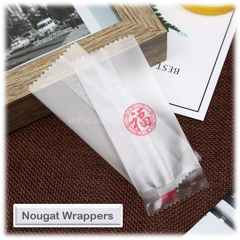 """福"" Nougat Candy Wrappers"