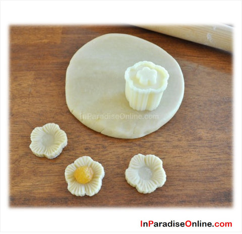 Flower Shaped Pineapple Tart Mould