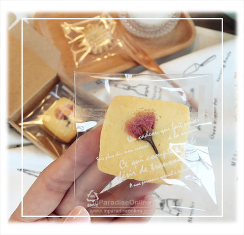 Self Adhesive Cookie Plastic Bag