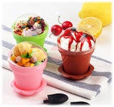 Flower Pot Cake Decoration Set