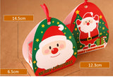 Merry Christmas Candy & Cookie Paper Boxes