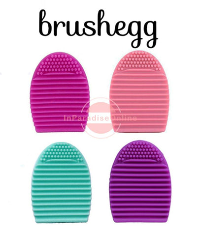 Brush Egg Silicone Makeup Brush Cleaner