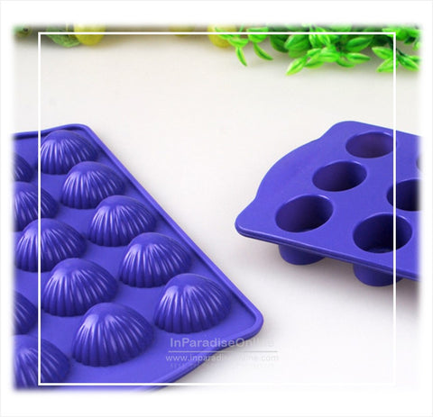 Chocolate Shell Shape Silicone Mold