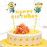 """Minion"" Bunting Cake Topper"