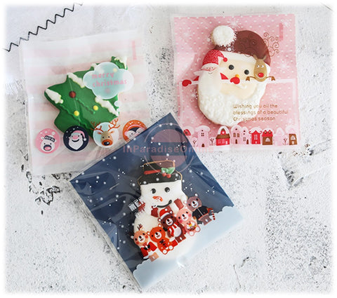 Lovely Christmas Cookie Packaging Bags