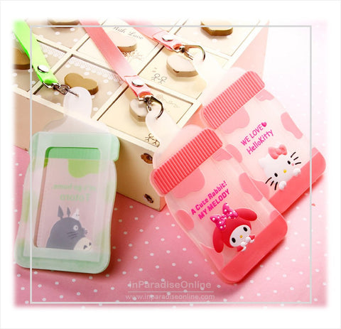 Silicone Cartoon ID Card Holder