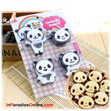 Lovely Panda Cookie Mold Cutters
