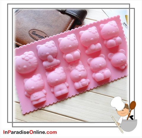 Kitty Bakery Silicone Mold