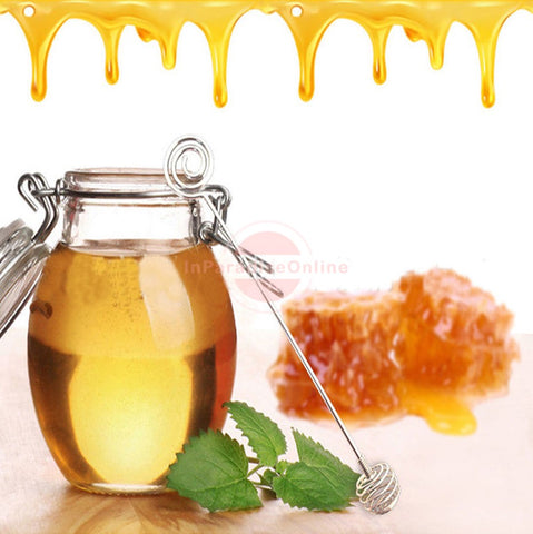 Stainless Steel Honey Dipper Spoon