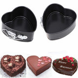 Non Stick Heart Springform Cake Tin