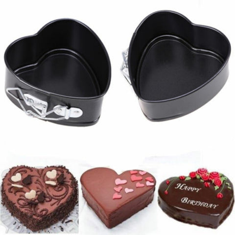 Non Stick Heart Springform Cake Pan