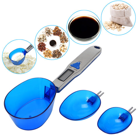 LCD Display Electronic Kitchen Digital Spoon Scale Set