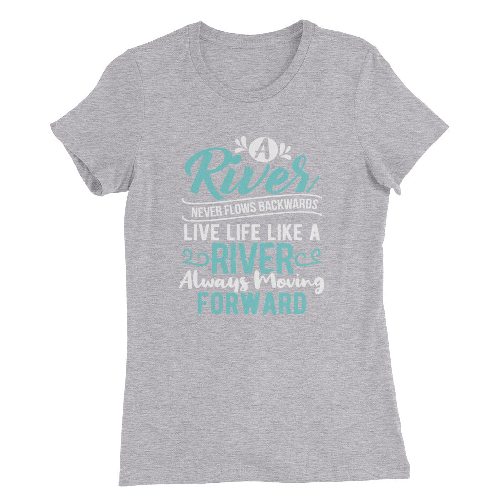 A River....Women's Slim Fit T-Shirt