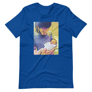 Mi And Mi Daughter....Short-Sleeve Unisex T-Shirt