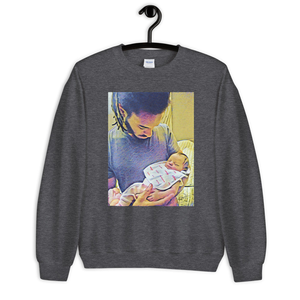 Mi and Mi Daughter....Unisex Sweatshirt