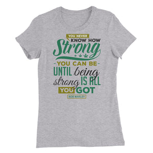 You Never Know...Women's Slim Fit T-Shirt