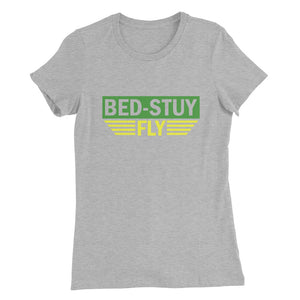 Bed Stuy Fly....Women's Slim Fit T-Shirt