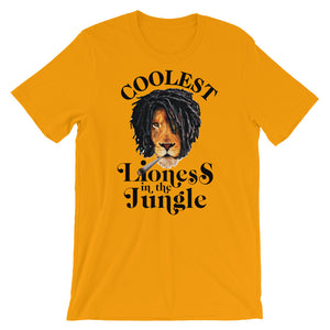 Coolest Lioness,,,Short-Sleeve Unisex T-Shirt
