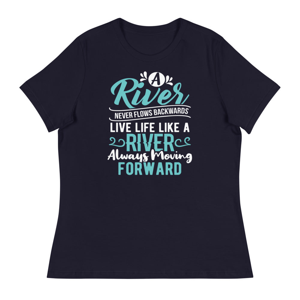 A River....Women's Relaxed T-Shirt