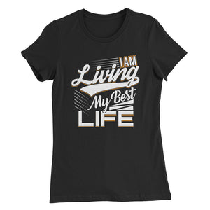 I AM Living....Women's Slim Fit T-Shirt