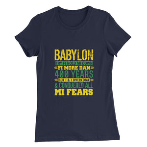 BABYLON Try...Women's Slim Fit T-Shirt