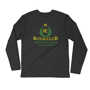 RoyalClub....Long Sleeve Fitted Crew