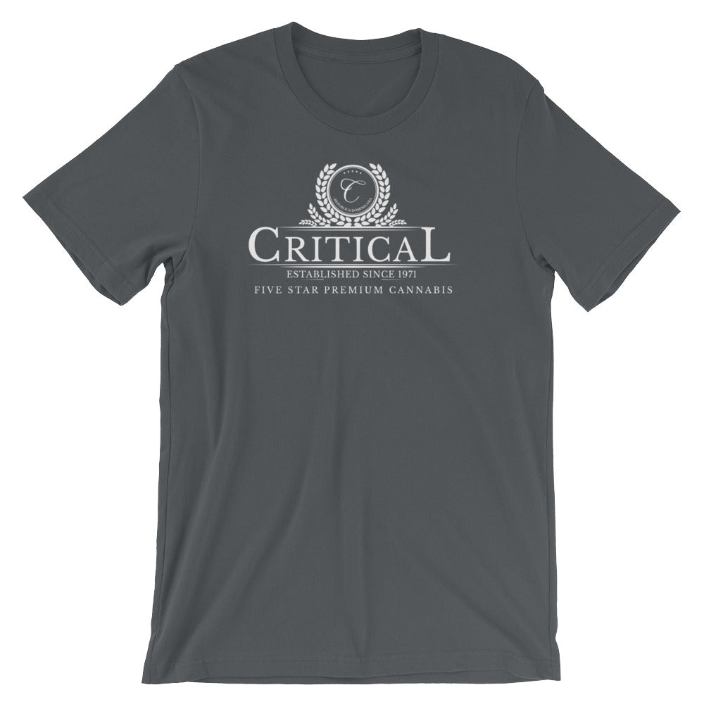 Critical Cannabis...Short-Sleeve Unisex T-Shirt
