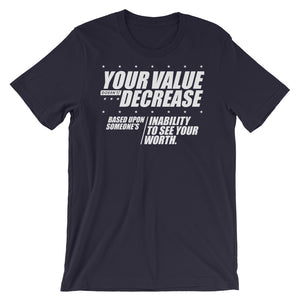 Your Value...Short-Sleeve Unisex T-Shirt