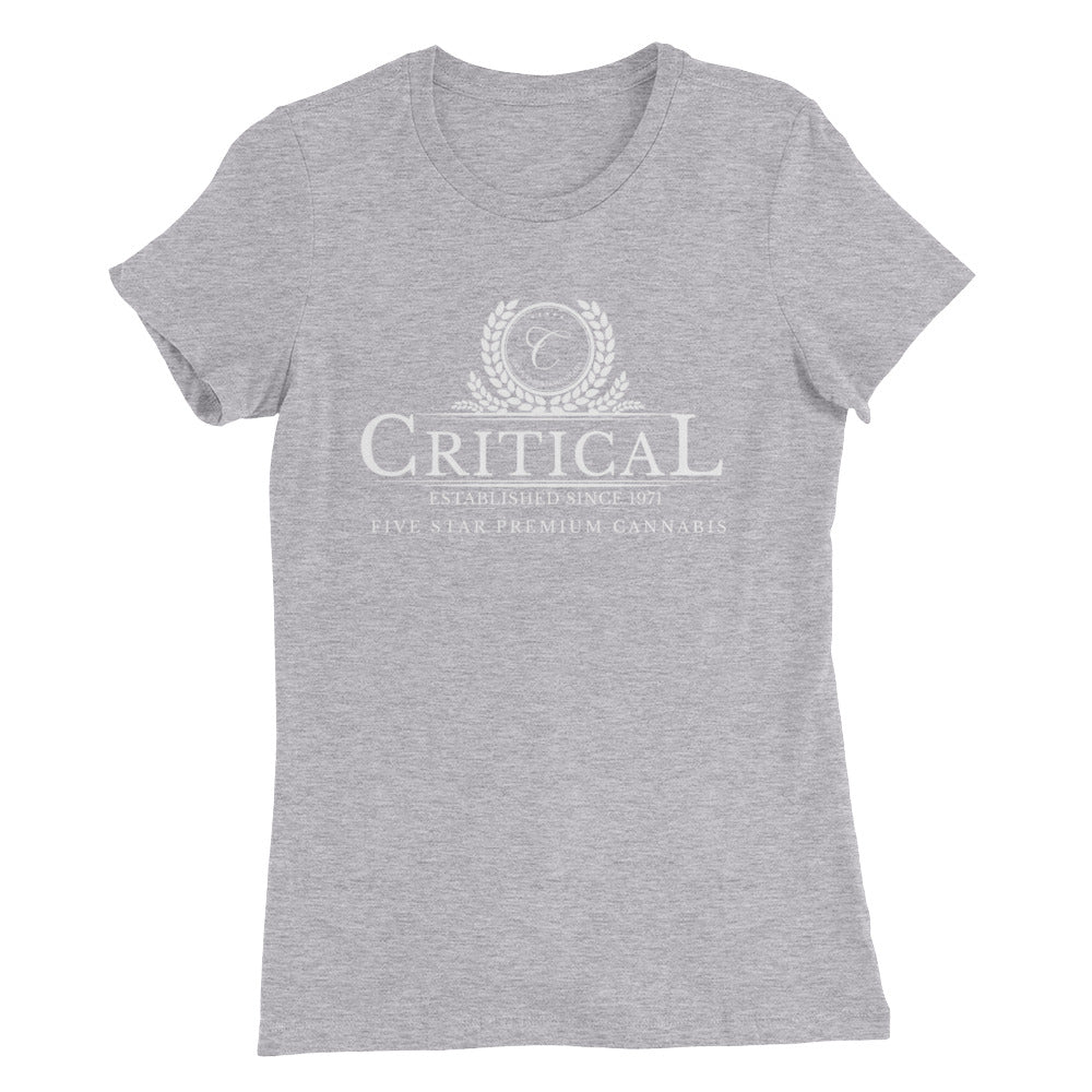 Critical Cannabis...Women's Slim Fit T-Shirt