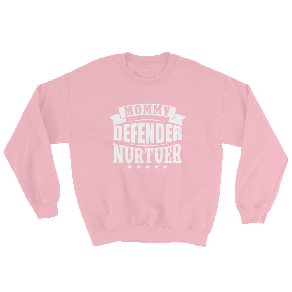 Mommy Defender....Gildan 18000 Unisex Heavy Blend Crewneck Sweatshirt