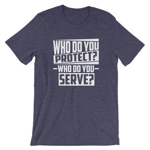 Who Do You...Short-Sleeve Unisex T-Shirt