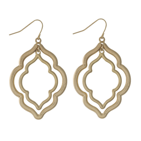 Double Moroccan Earring in Gold