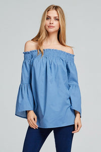 Daytime Dreamer Off Shoulder Top