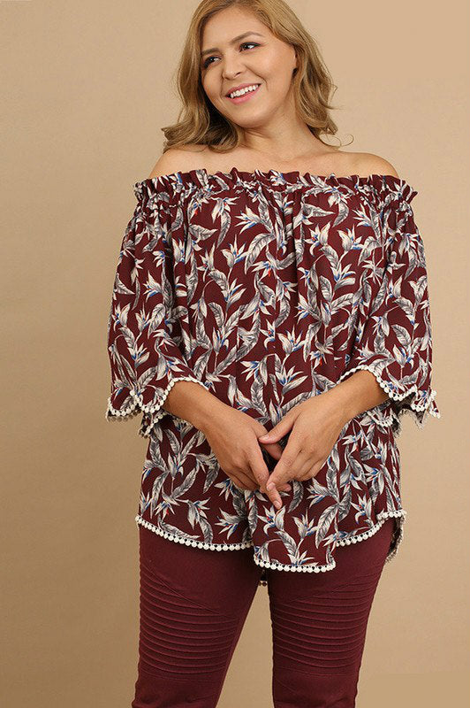 Wine by Design Floral Top