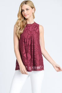 Happily Ever After Lace Tank