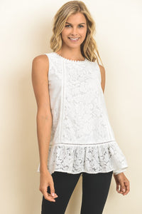 Summer Nights Embroidered Top