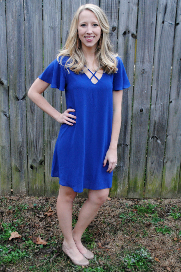 Calla Criss Cross Dress